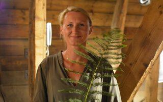Kamila Pawłucka-Górecka autorka wystawy: Za górami za lasami