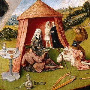 Hieronim Bosch, Siedem grzechów głównych, Nieczystość