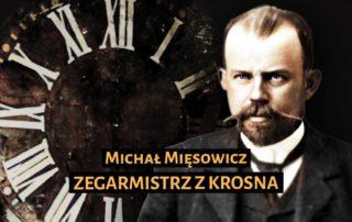 Slajd z filmu o Michale Mięsowiczu