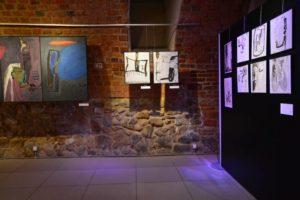 Z inspiracji Patrona, ekspozycja w Piwnicy PodCieniami