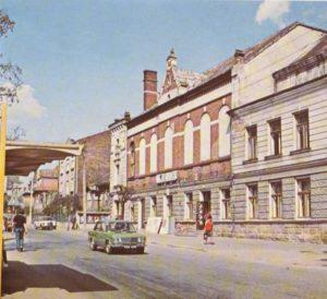 Budynek kina w Krośnie