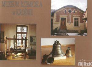 Pocztówka przedstawiająca Muzeum Rzemiosła w Krośnie