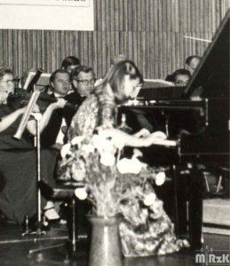 Koncert w krośnieńskiej szkole muzycznej, 1985