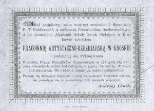reklama z gazety