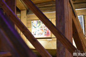 obraz Marcina Marszałka w Wieży Farnej